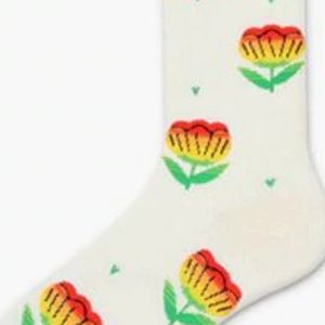 Happy Floral Flower Power Socks Any 4 for $32